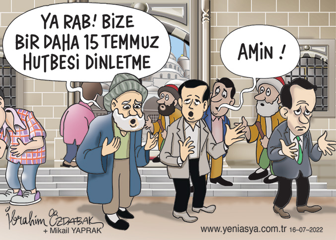 Her güne bir karikatür - Her yüze bir tebessüm