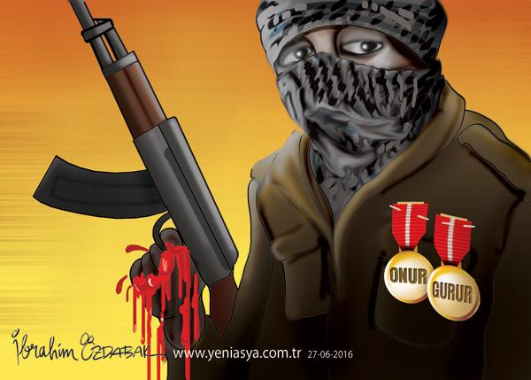 Onurlu ve gururlu terörist(!)