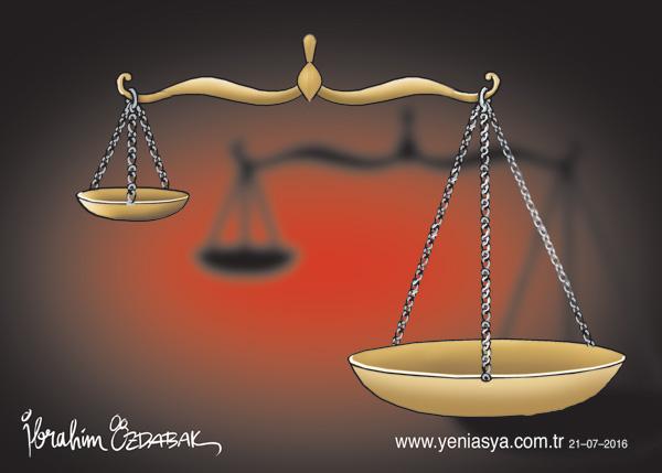 Kuvvete dayanmayan adalet aciz, adalete dayanmayan kuvvet zalimdir.