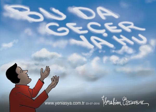 İnsana sadakat yaraşır görse de ikrah..  Yardımcısıdır doğruların Hz. Allah..! (Ziya Paşa)