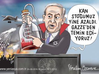 İsrail yine bildiğiniz gibi