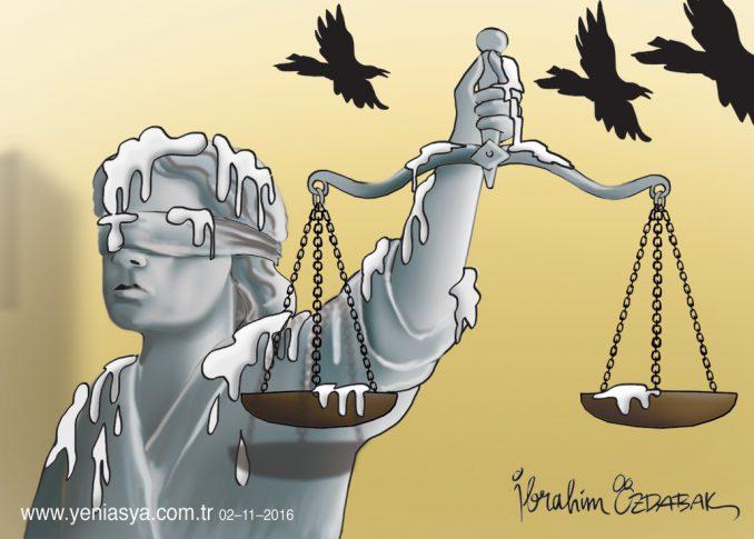 Adalet hep temiz kalmalı
