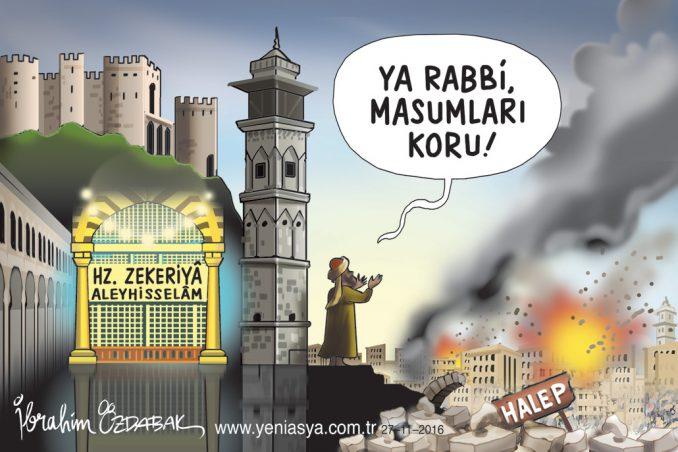 Halep açlığın pençesinde